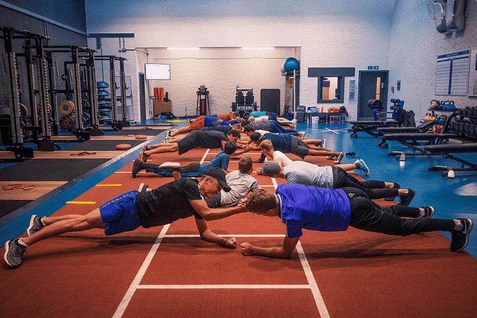 Conditionnement musculaire au Masters Camp