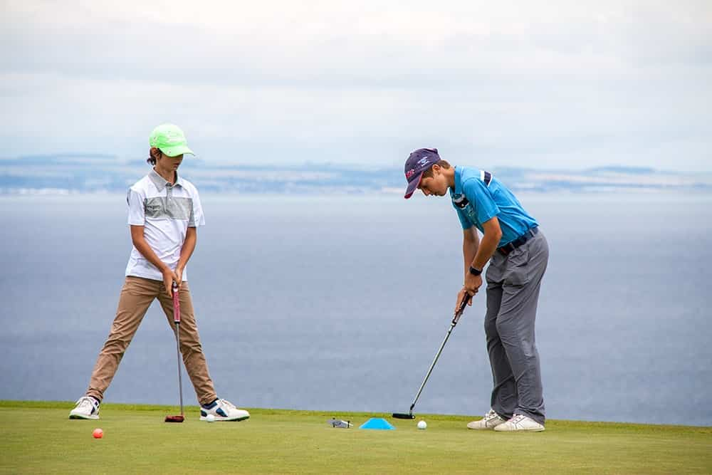 Junior Golfers during the Open Camp | Mypro Golf Camp