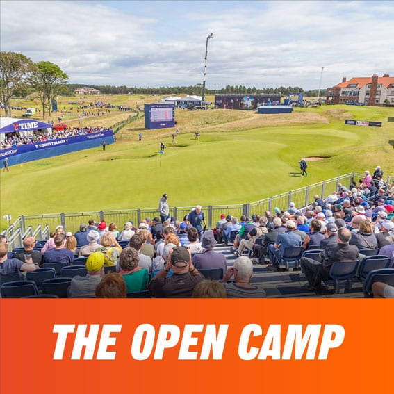 The Open Camp | Stage de Golf